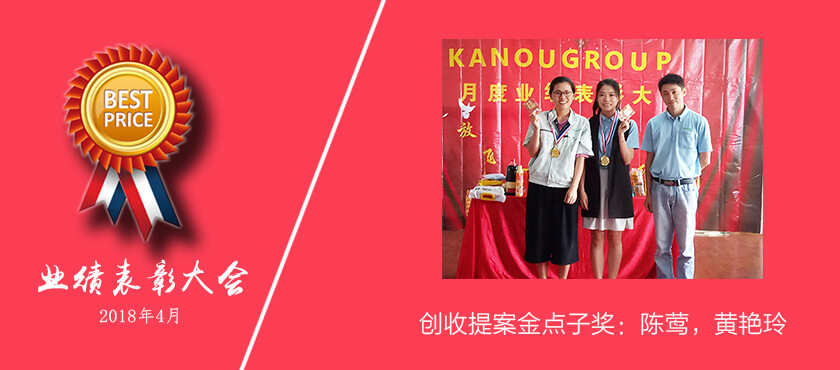 华能精密2018年4月创收提案金点子奖