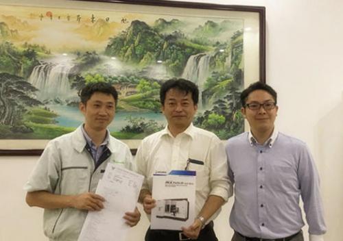 凯路汽车工业与山善贸易签订日本大隈5轴车铣复合设备订购协议